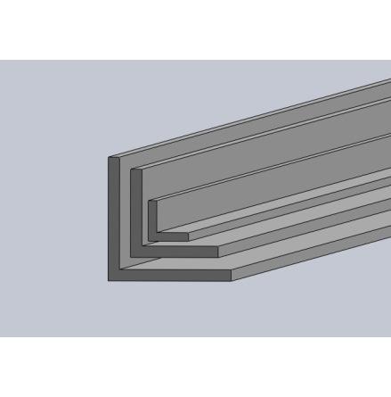 Aluminium L-profil