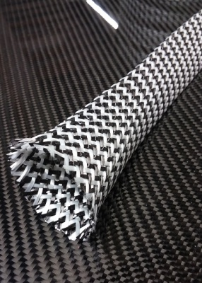Kolfibers/glasfiber strumpa 45 mm